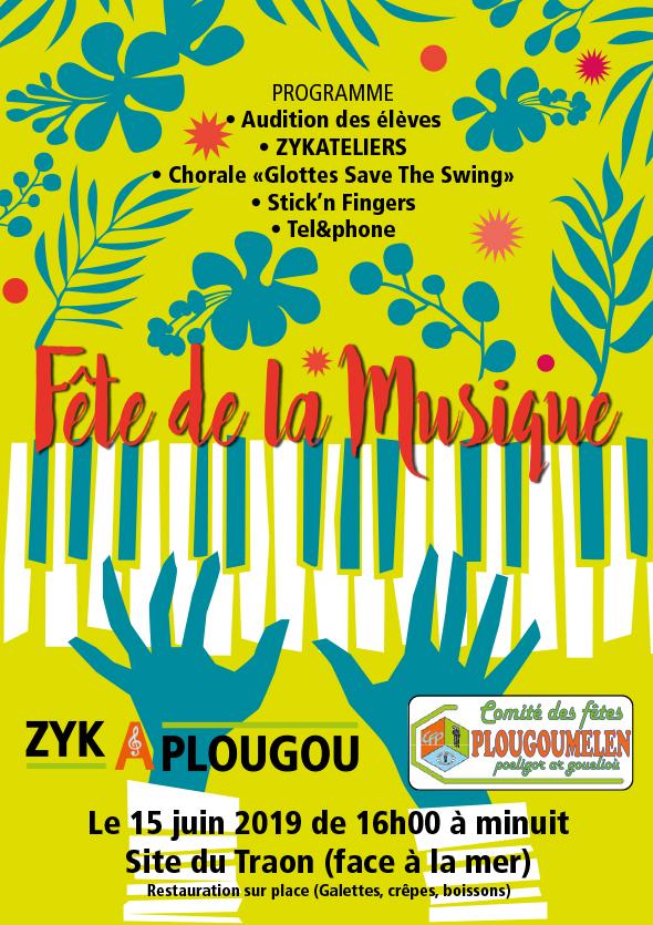 Fête de la musique Zykaplougou